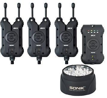 Sonik SKX 3+1 Alarm + Bivvy Lamp
