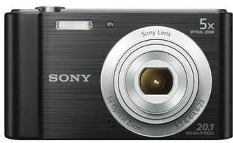 Fotoaparát SONY DSC-W800B, 20,1Mpx, f/3.2-6.4, 5x zoom, 2.7