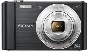 Fotoaparát SONY DSC-W810B, 20,1Mpx, f/3.5-6.5, 6x zoom, 2.7