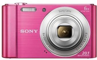 Fotoaparát SONY DSC-W810P, 20,1Mpx, f/3.5-6.5, 6x zoom, 2.7