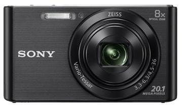 Fotoaparát SONY DSC-W830B, 20,1Mpx, f/3.3-6.3, 8x zoom, 2.7