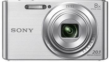 Fotoaparát SONY DSC-W830S, 20,1Mpx, f/3.3-6.3, 8x zoom, 2.7