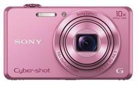 Fotoaparát SONY DSC-WX220, 18,2Mpx, f/3.3-5.9, 10x zoom, 2.7