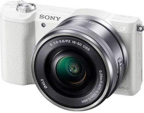 Sony A5100L, 16-50mm, 24,3Mpix, biela ILCE5100LW.CEC