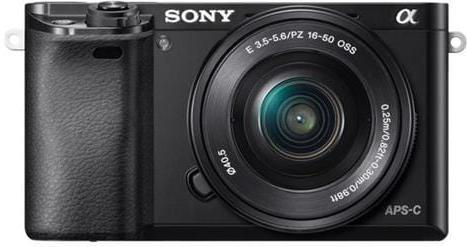Sony A6000L, 16-50mm, 24,3Mpix, čierna ILCE6000LB.CEC
