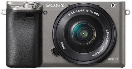 Sony A6000L, 16-50mm, 24,3Mpix, grafitová ILCE6000LH.CEC