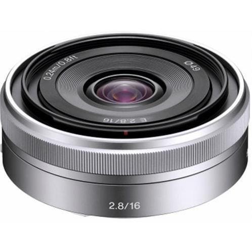 Sony objektív SEL-16F28, 16mm pre NEX 3/5 SEL16F28.AE