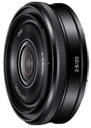 Sony objektív SEL-20F28,20mm,F2,8 pre NEX SEL20F28.AE
