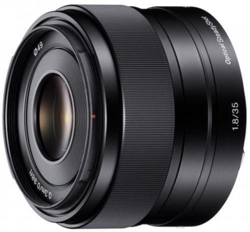 Sony objektív SEL-35F18,35mm,F1,8 pre NEX SEL35F18.AE