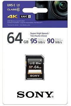 Sony SDXC 64GB Class 10 Pro