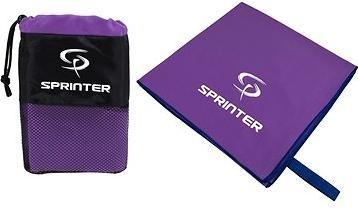 Sprinter - ručník z mikrovlákna 100 × 160 cm - fialový