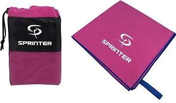 Sprinter - ručník z mikrovlákna 100 × 160 cm - růžový