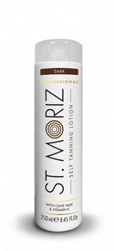 St. Moriz Samoopaľovacie mlieko pre tmavé opálenie na telo i tvár Professional 200 ml