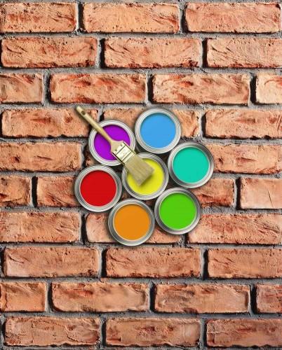 STAMP SET 3 farieb na obklad STAMP® Tehla Rustical - 030A antracit + 385A tehlovo červená + 360A tehlovo oranžová - set 3 kg