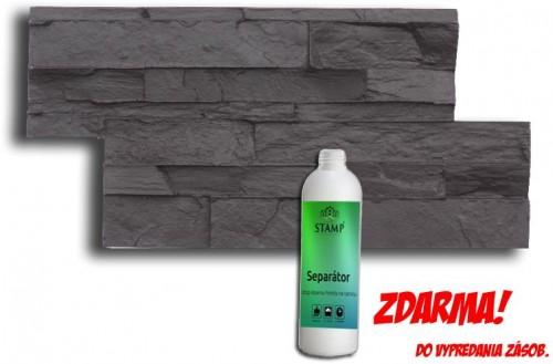 STAMP STAMP Lámaný kameň - obklad za 20% jeho ceny - LK-1 - 39x 19cm a 1 Kg