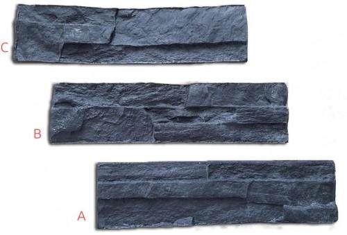 STAMP STAMP® SET CHLOE - Raznice na obkladový kameň - OK-CH SET - 3x 40cmx11 cm