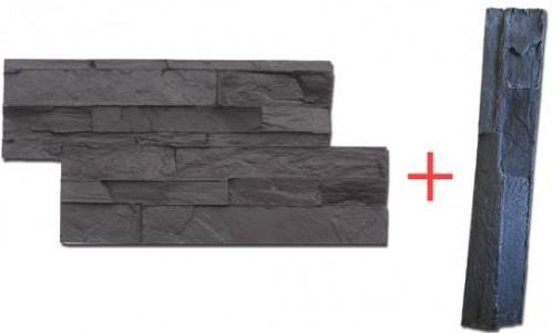 STAMP STAMP® SET Lámaný kameň + dokončovacia raznica - LK+DOK