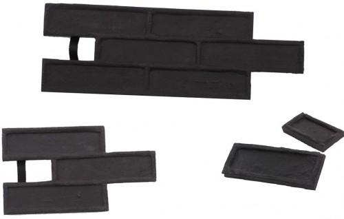 STAMP STAMP® Tehla Classic SET2 - 4 profesionálne raznice na výrobu obkladu - TC0,5+1 a TC3 a TC6 - 4 ks
