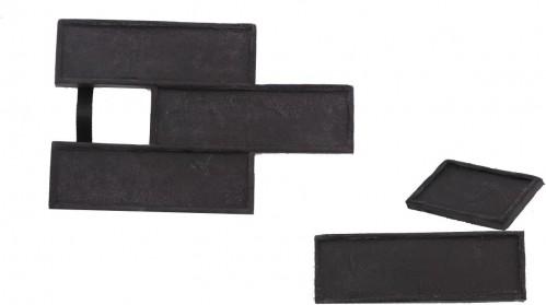 STAMP STAMP® Tehla Decent SET1 - 3 profesionálne raznice na výrobu obkladu - TD0,5+1 a TD3 - 3 ks