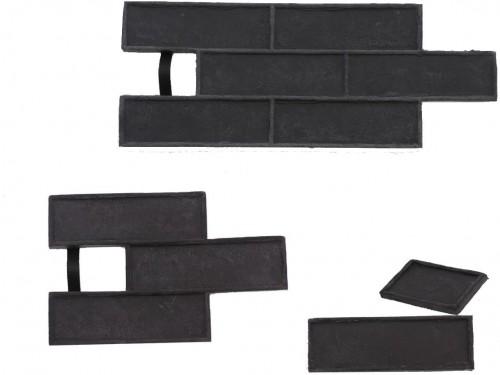 STAMP STAMP® Tehla Decent SET2 - 4 profesionálne raznice na výrobu obkladu - TD0,5+1 a TD3 a TD6 - 4 ks