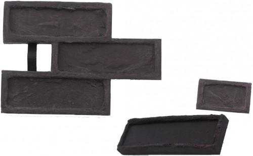 STAMP STAMP® Tehla Rustical SET1 - 3 profesionálne raznice na výrobu obkladu - TR0,5+1 a TR3 - 3 ks