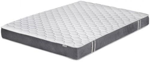 Bielo-sivý matrac s pamäťovou penou Stella Cadente Syrius, 180 × 200 cm