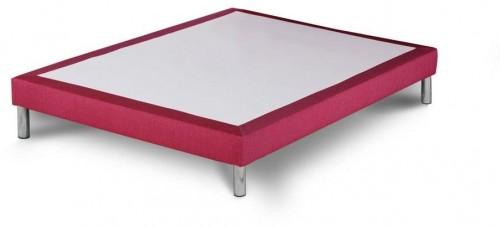 Ružová posteľ typu boxspring Stella Cadente Maison, 160 × 200 cm