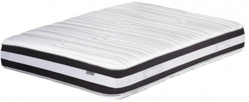 Tmavosivo-biely matrac Stella Cadente Mars, 140 × 200 cm