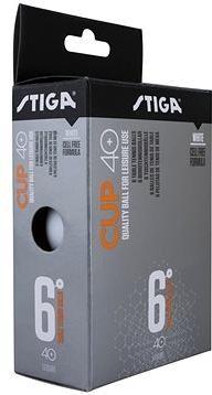 STIGA CUP ABS bílé 6 ks
