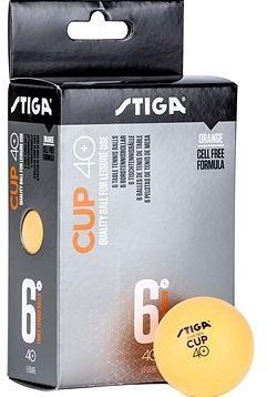 STIGA CUP ABS oranžové 6 ks
