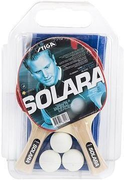 Stiga Set Solara - 2 pálky,3 míčky,1 síť