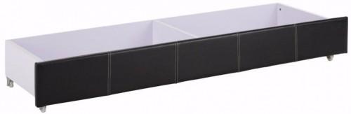 Čierna zásuvka pod posteľ Støraa Margit