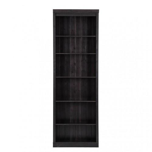 Tmavohnedá knižnica z borovicového dreva Støraa Annabelle