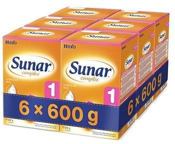 Sunar Complex 1 - 6× 600 g