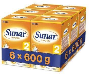 Sunar Complex 2 - 6× 600 g