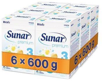 Sunar Premium 3 - 6× 600 g