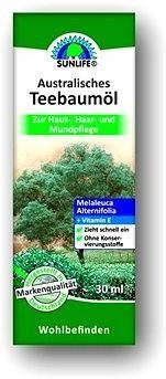 SUNLIFE Australský Čajovník Tea Tree Oil 30 ml