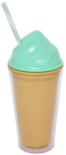 Tyrkysový dvojstenný téglik Sunnylife Ice Cream, 470 ml
