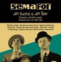 Semafor Komplet 9 her z let 1959-1964 15 CD - audiokniha