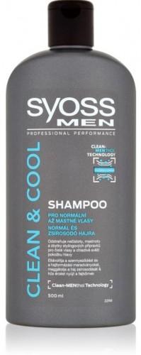 Syoss Clean&Cool šampón 500ml