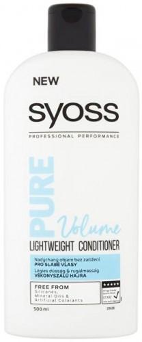 Syoss Ľahký balzam pre slabé vlasy Pure Volume ( Light weight Conditioner) 500 ml