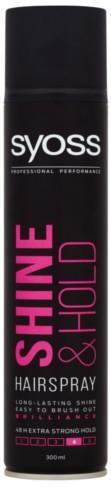 Syoss Lak na vlasy Shine & Hold 4 ( Hair spray) 300 ml