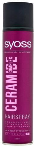 Syoss Posilňujúci lak na vlasy Ceramide Complex 5 ( Hair spray) 300 ml