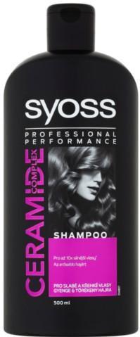 Syoss Šampón pre slabé a krehké vlasy Ceramide Complex (Shampoo) 500 ml