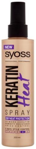 Syoss Sprej pre kontrolu účesu Keratin 4 (Heat Spray) 200 ml