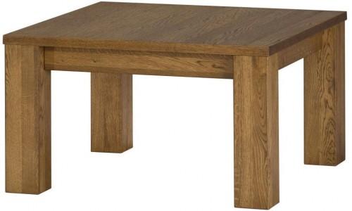 Konferenčný stolík z dubového dreva Szynaka Meble Velvet Square