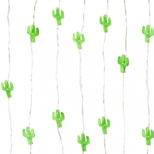 Svetelná reťaz Talking Tables Fiesta Cactus, dĺžka 3 m