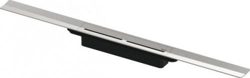 TECEdrainprofile sprchový profil, 1200x55 mm, kartáčovaná nerez, 671200
