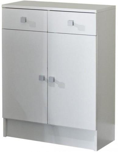 Biela kúpeľňová skrinka TemaHome Combi, šírka 60cm