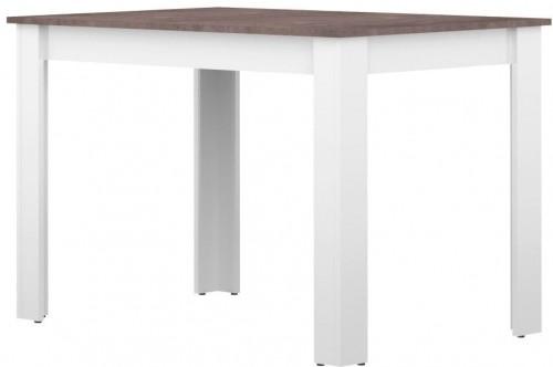 Bielo-sivý jedálenský stôl TemaHome Nice